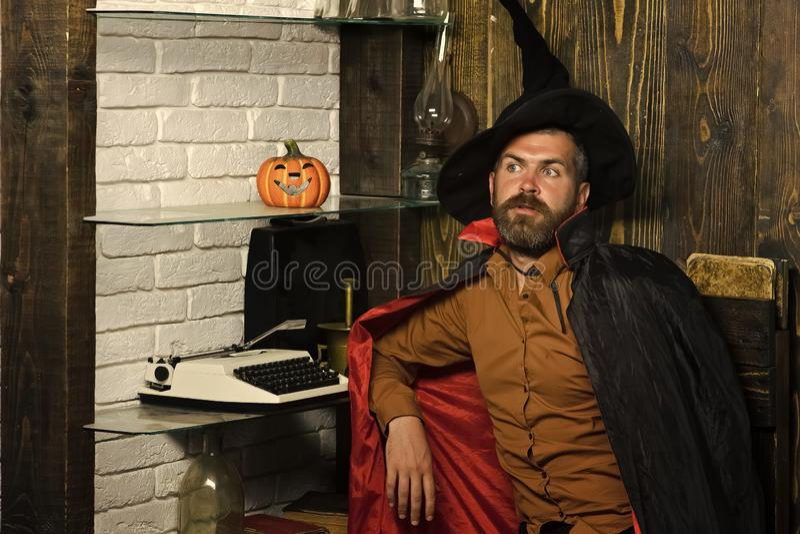 Feitiçaria e feitiçaria de Dia das Bruxas foto de stock