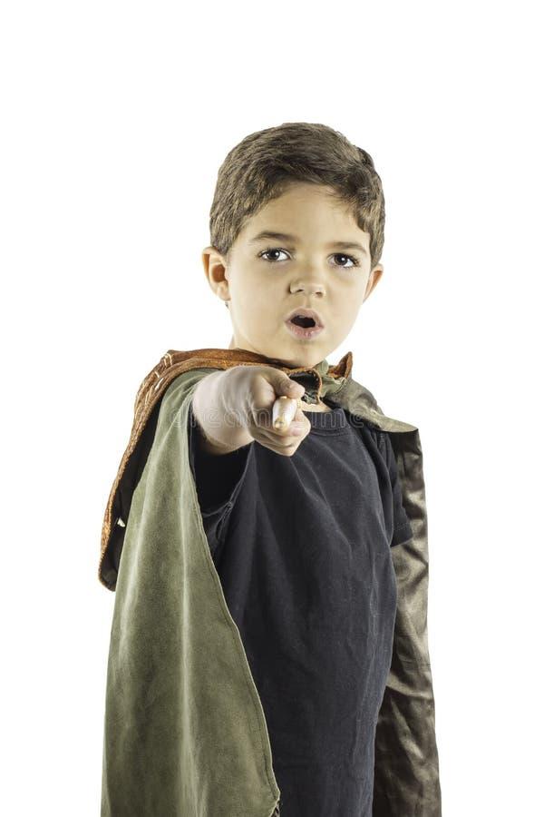Feiticeiro 2 Da Criança Imagens de Stock Royalty Free