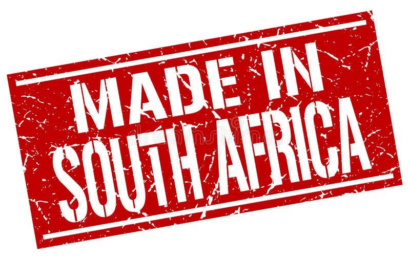 Feito em África do Sul ilustração royalty free