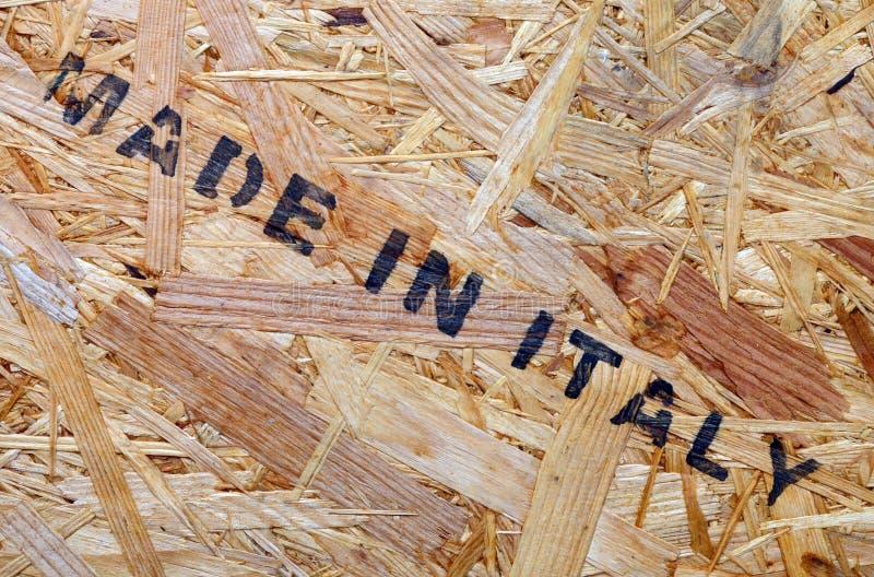 Feito em Itália imagem de stock