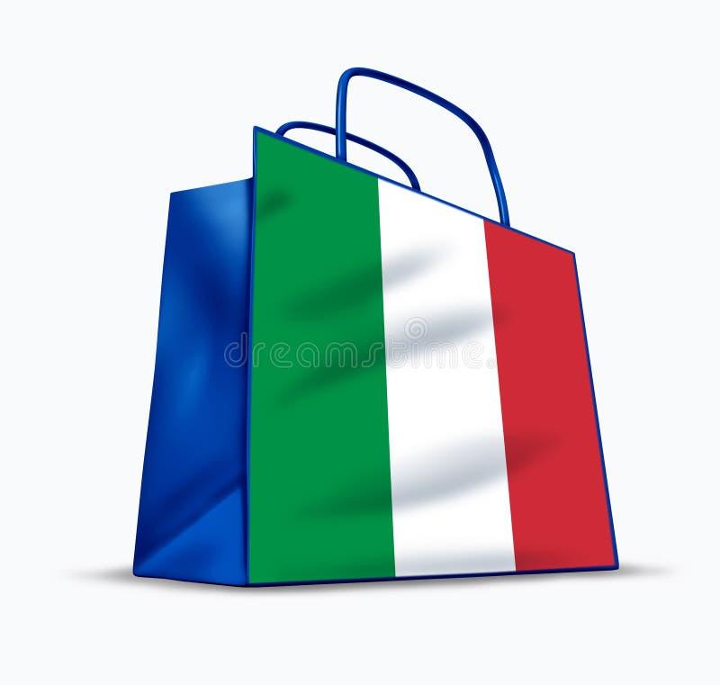 Feito em Italy ilustração royalty free