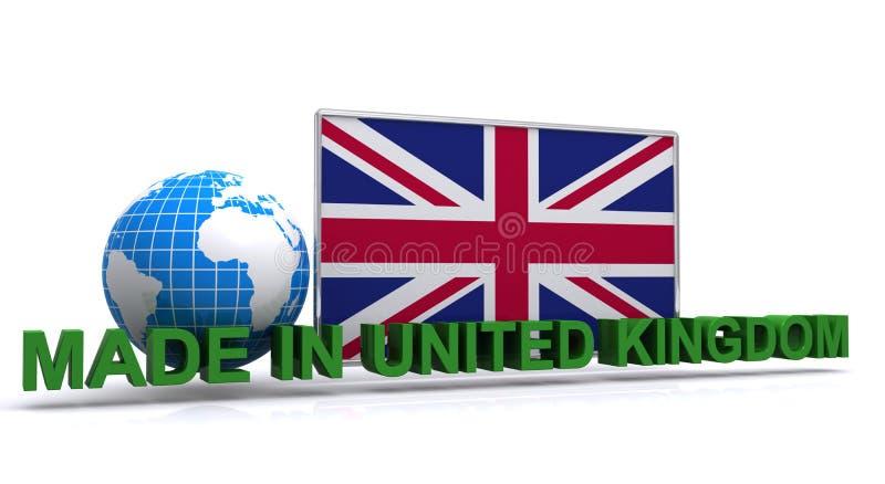 Feito em Reino Unido ilustração do vetor