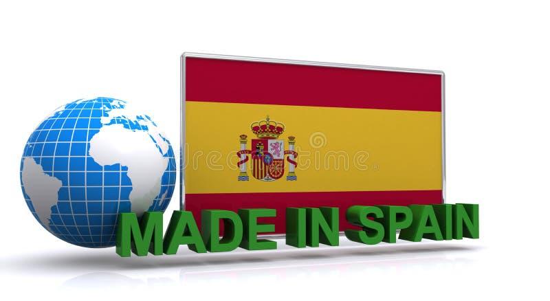 Feito na Espanha ilustração royalty free