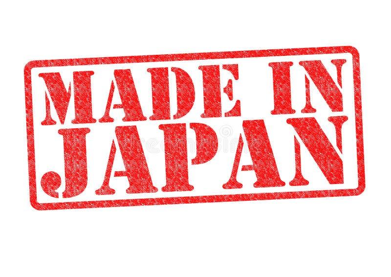 FEITO no carimbo de borracha de JAPÃO fotos de stock royalty free