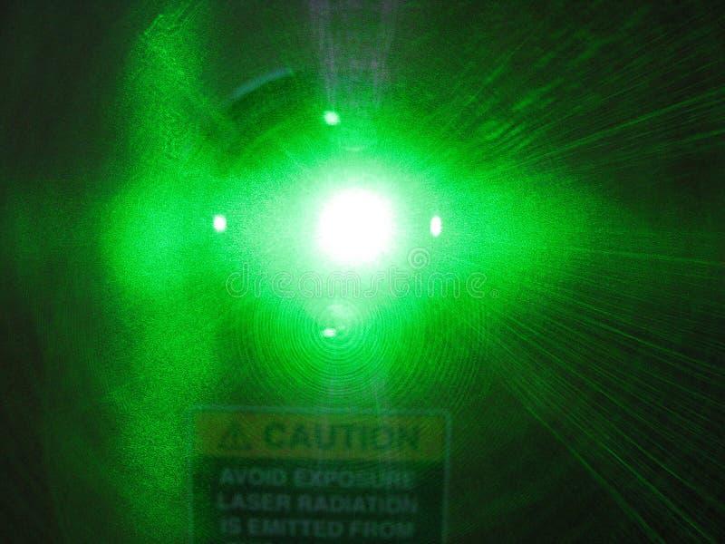 Feixe da radiação de laser imagens de stock royalty free