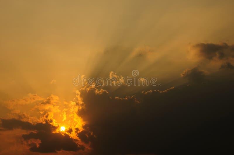 Feixe de Sun imagens de stock