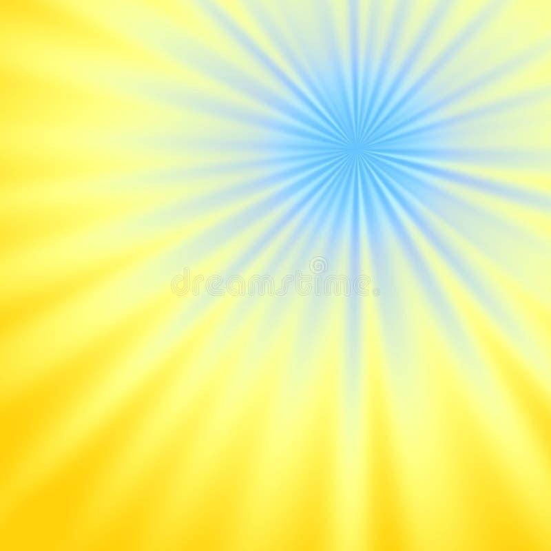 Feixe luminoso ilustração do vetor