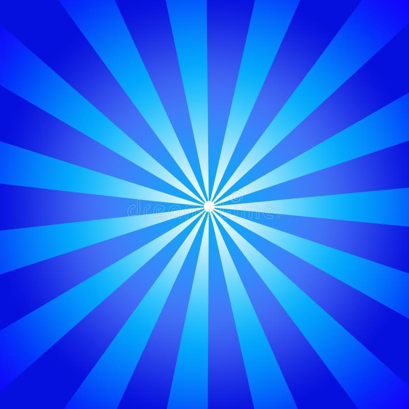 Feixes azuis ilustração do vetor