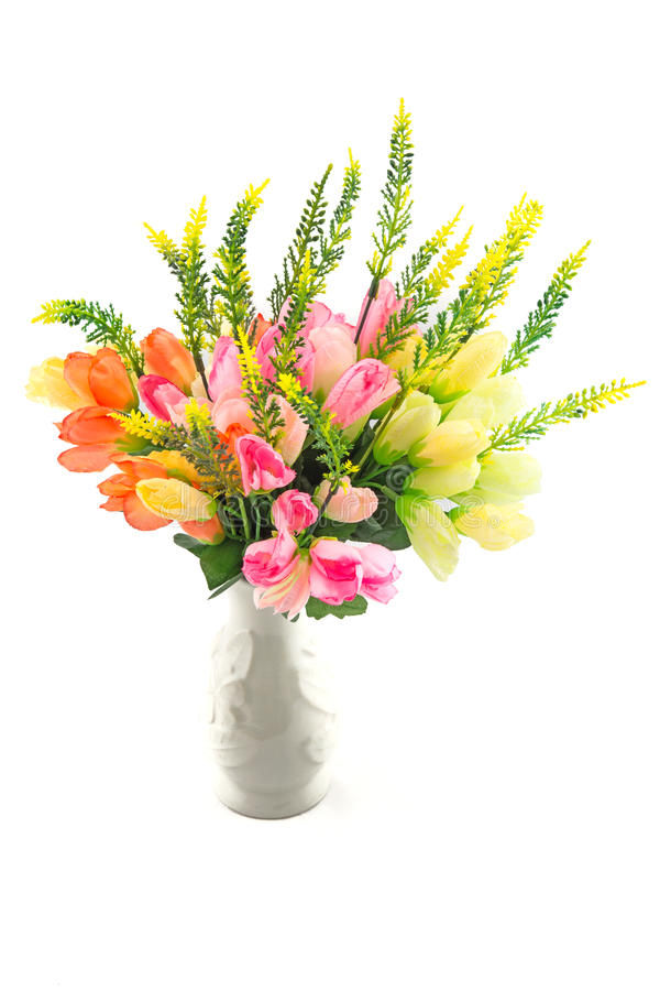 Fejka blommor för inregarnering arkivfoton