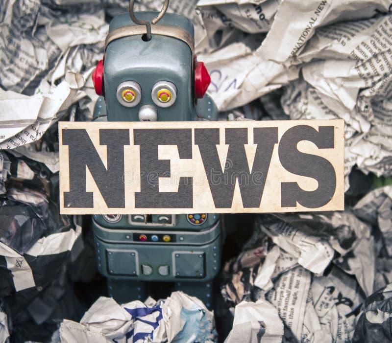 Fejka nyheterna arkivbilder