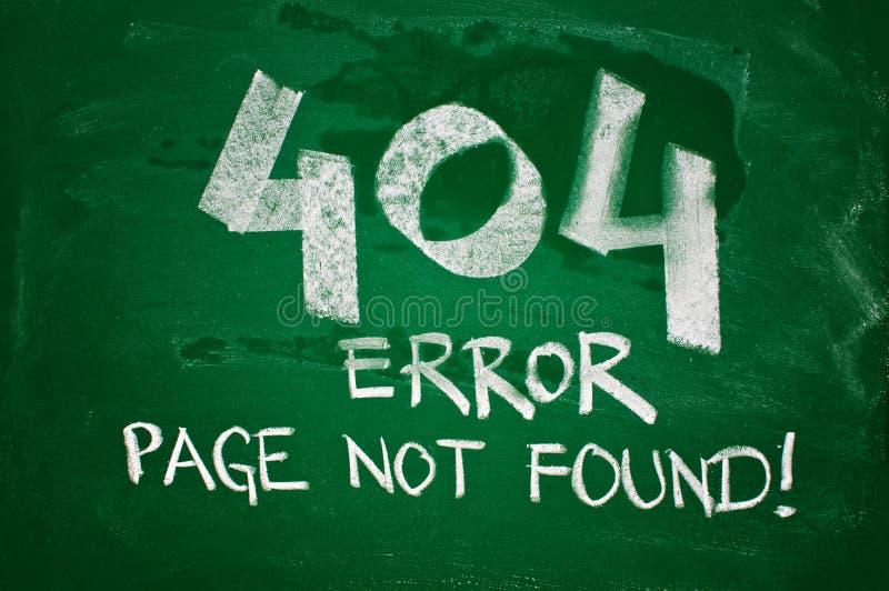 fel 404, page inte funnet arkivbilder