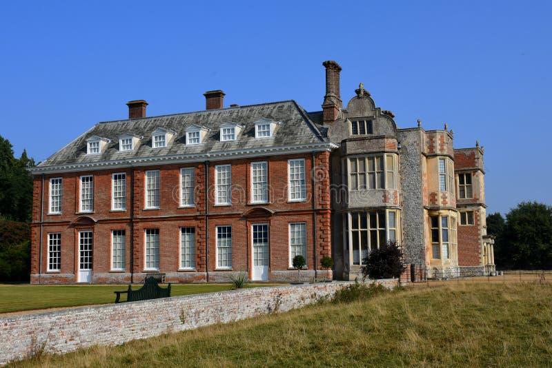 Felbrigg Hall, Norfolk lizenzfreie stockfotografie