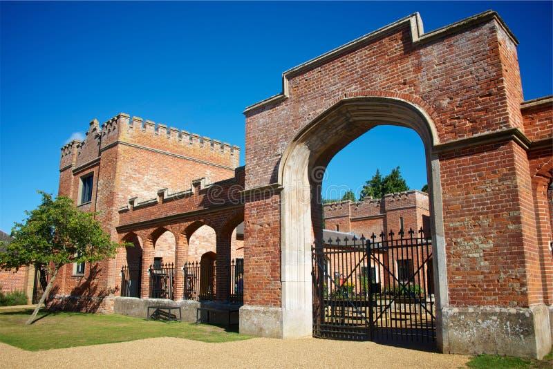 Felbrigg Salão, confiança nacional, Norfolk, Reino Unido imagem de stock royalty free