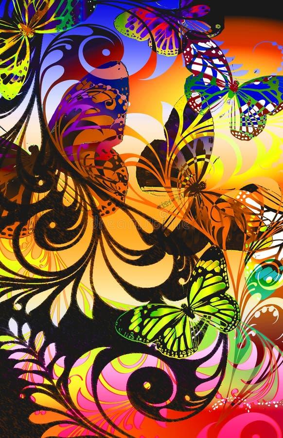 Felce tropicale royalty illustrazione gratis