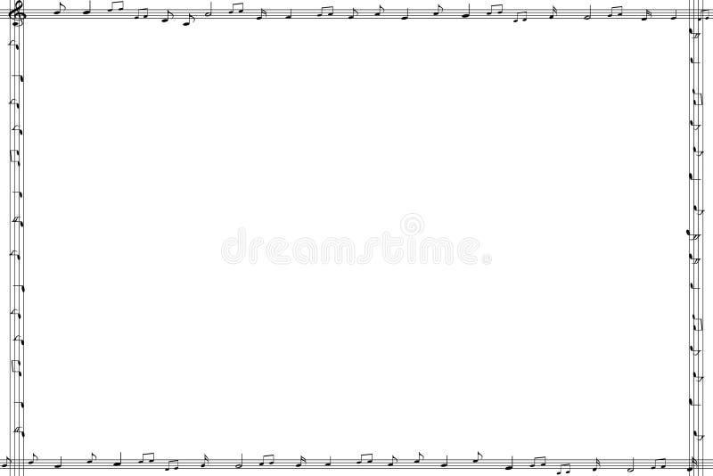 Download Feld stock abbildung. Illustration von horizontal, musikalisch - 46867