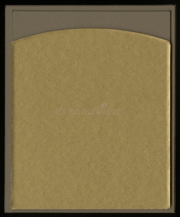 Feld für Foto oder Text von der Pappmatte mit Schrägschnitt lizenzfreie stockbilder