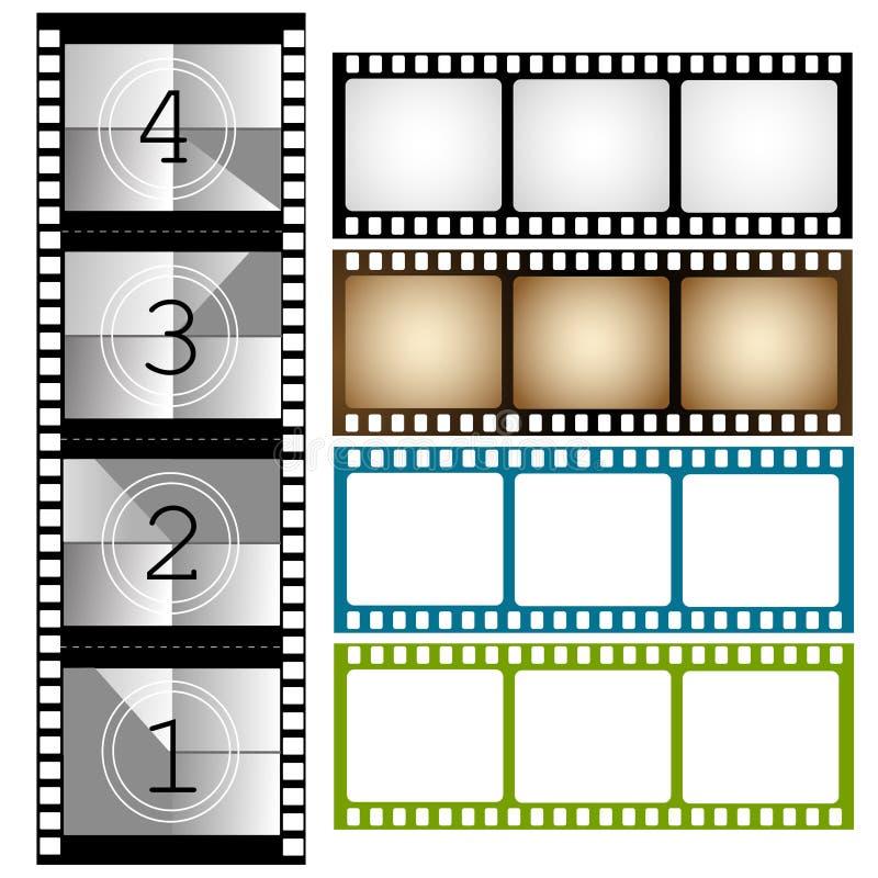 Feld, Film vektor abbildung