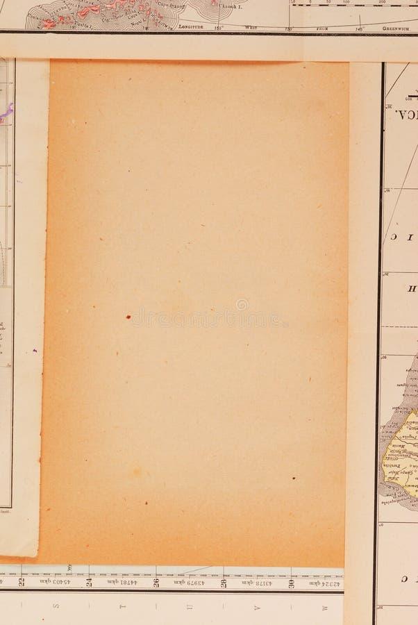 Feld gebildet von den Karten stockfotografie
