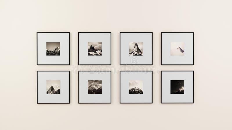 Feld Kunst auf Wand lizenzfreie stockfotografie