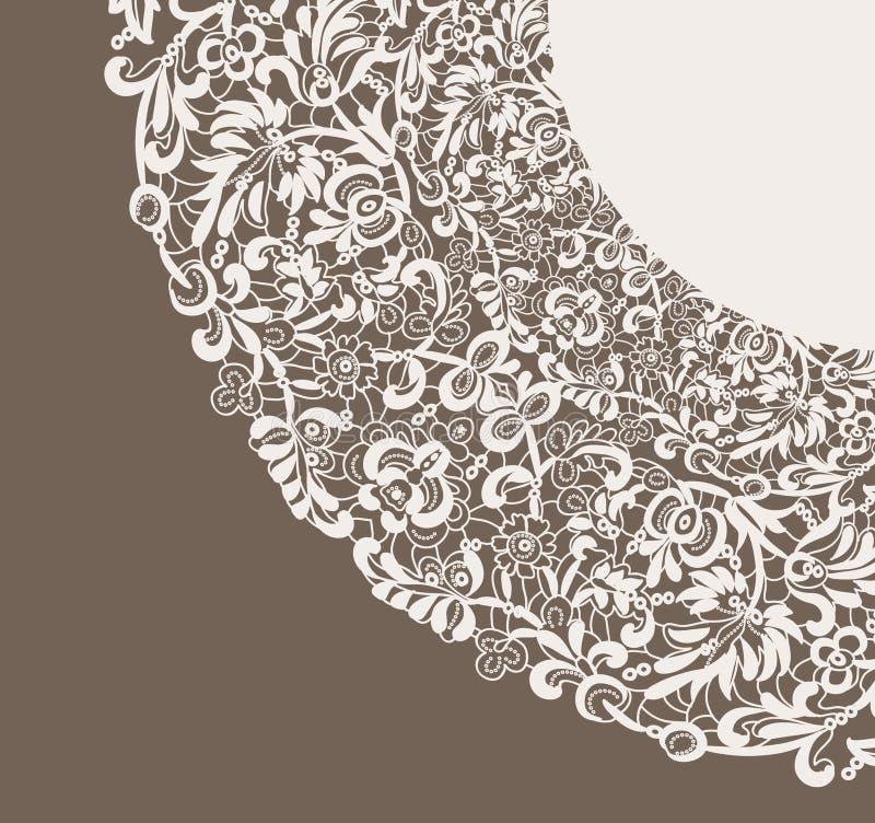 Feld lace-like lizenzfreie abbildung