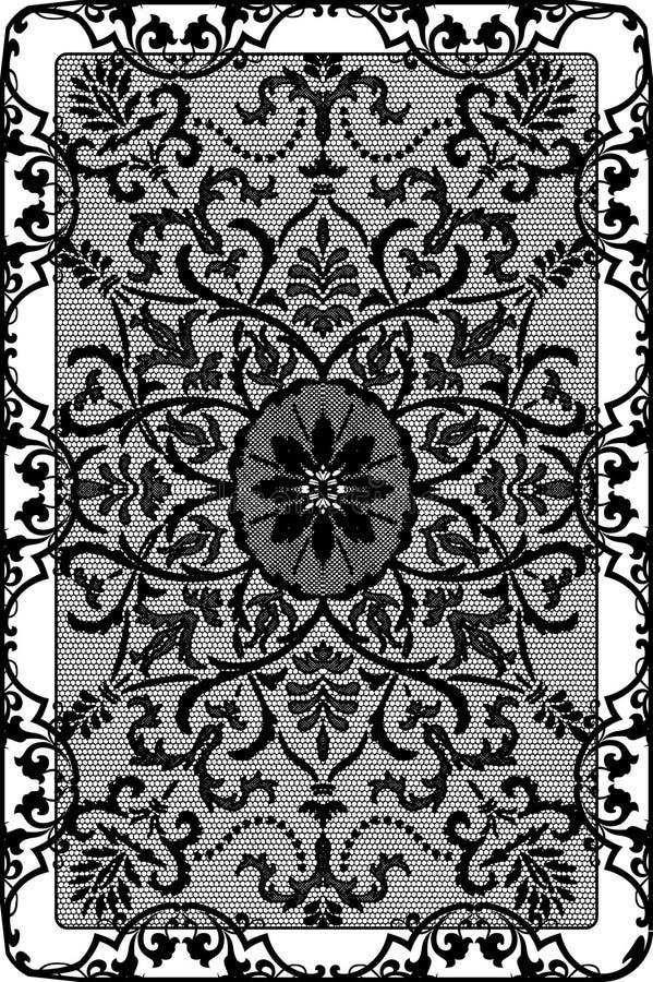 Feld lace-like vektor abbildung