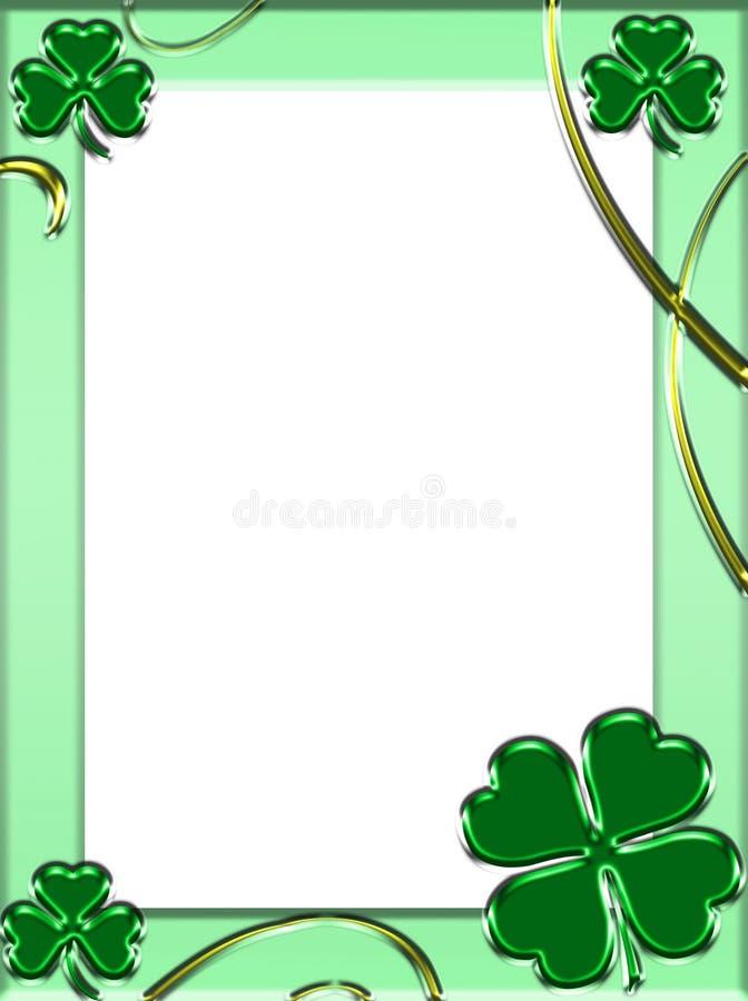Feld Str.-Patricks stock abbildung
