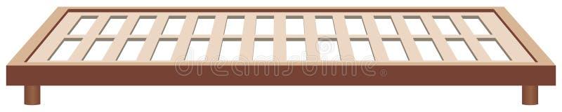 Feldbettrahmenholz vektor abbildung