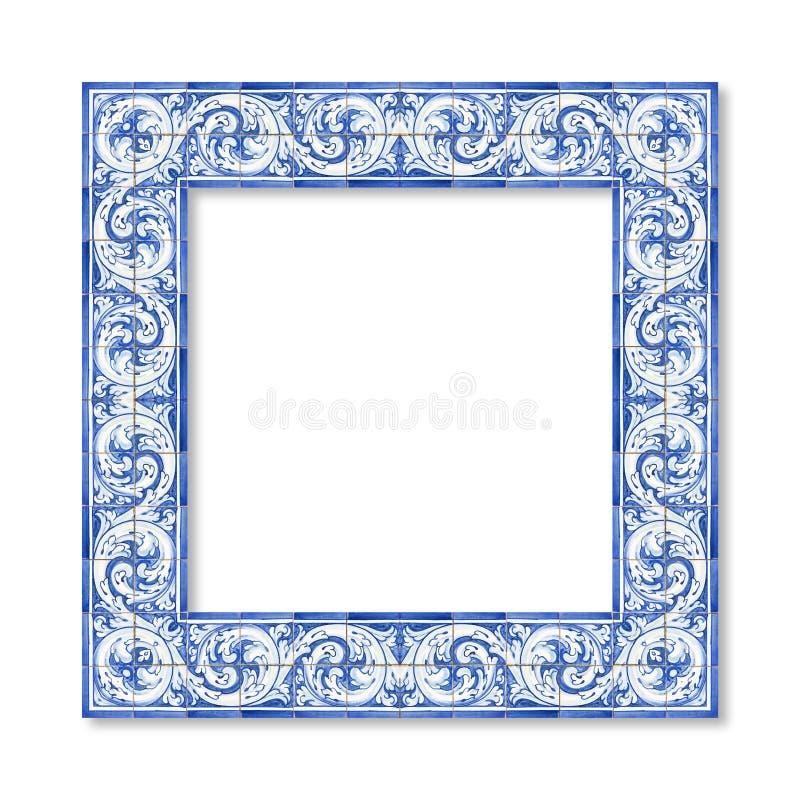 Felddesign mit den typischen portugiesischen Dekorationen genannt lizenzfreie stockfotografie