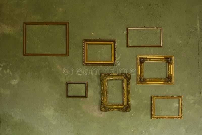 Leerer Bilderrahmen Stockbild. Bild Von Wand, Barock