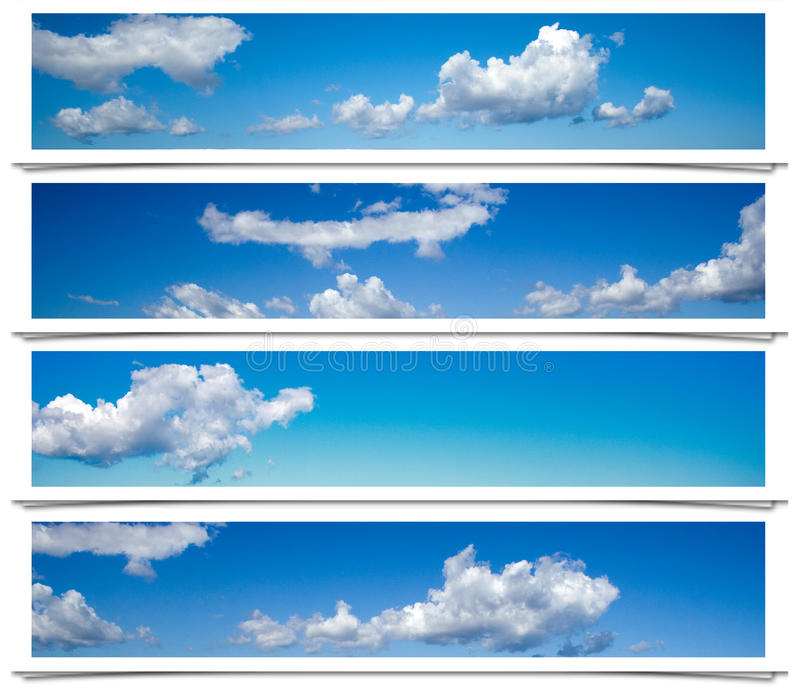 Felder des blauen Himmels. lizenzfreie abbildung