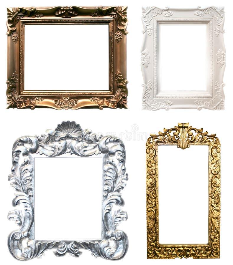 Felder für Portraits stockbild