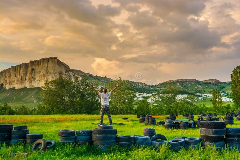 Felder von Andalusien stockfotos