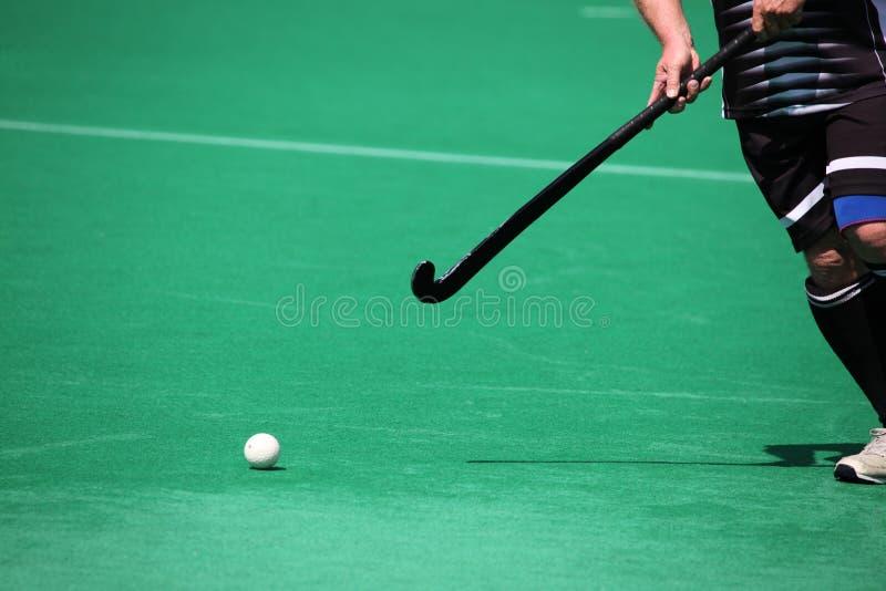 Feldhockey lizenzfreie stockbilder