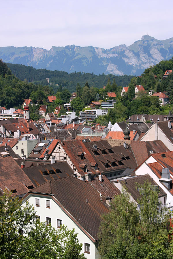 feldkirch Vorarlberg στοκ εικόνες