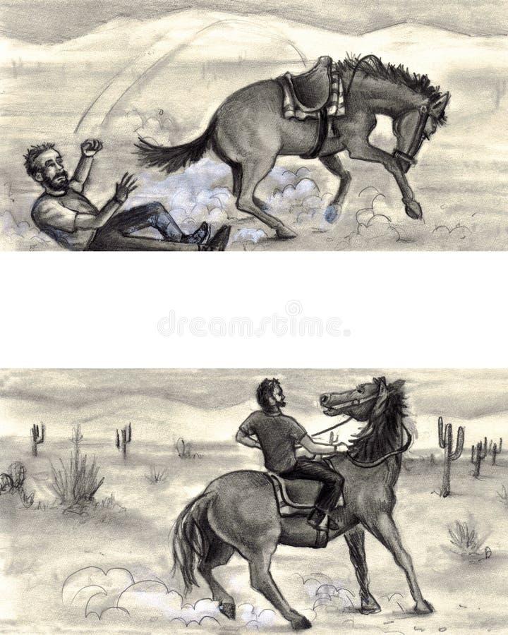 felframgång royaltyfri illustrationer