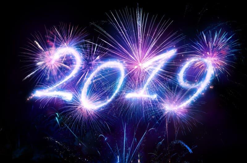 Felices Año Nuevo 2019 fotos de archivo