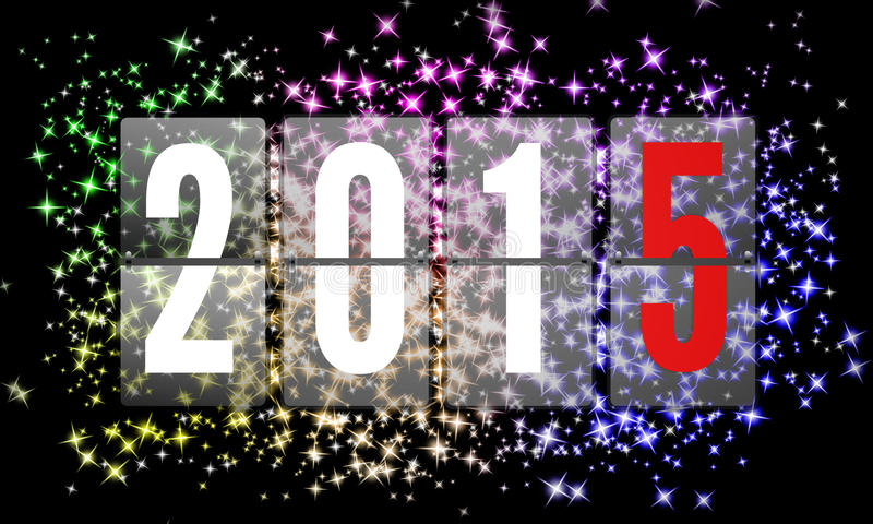 2015 Felices Año Nuevo libre illustration