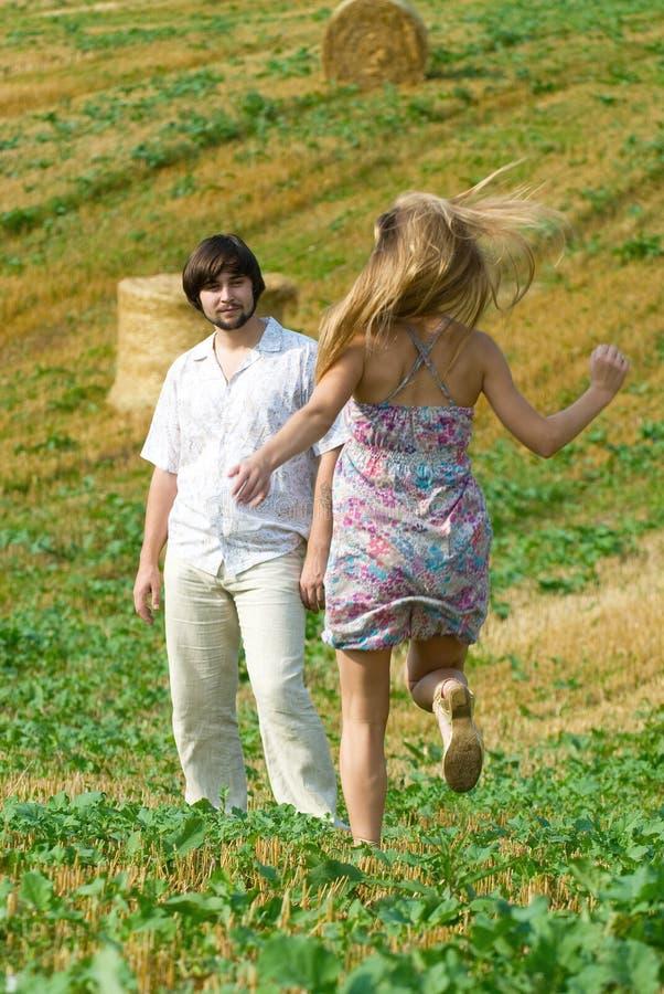 Felicidad del verano foto de archivo libre de regalías