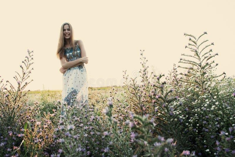 Felicidad, verano imagen de archivo