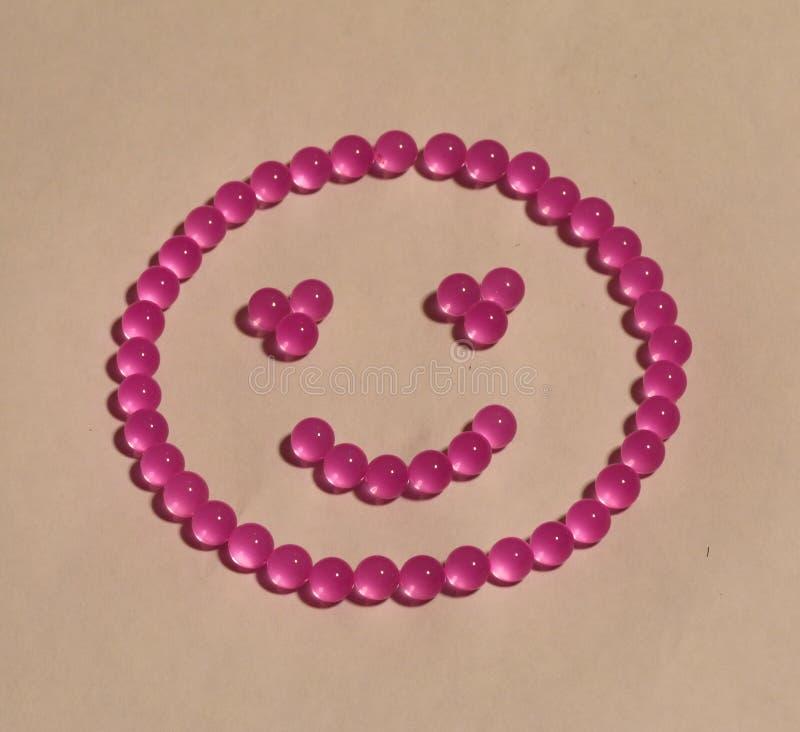 Felicidade em um sorriso imagem de stock
