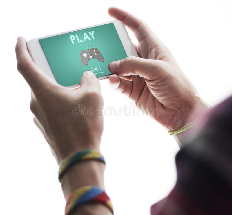 Felicità Joy Leisure Sports Concept di divertimento di attività del gioco immagine stock