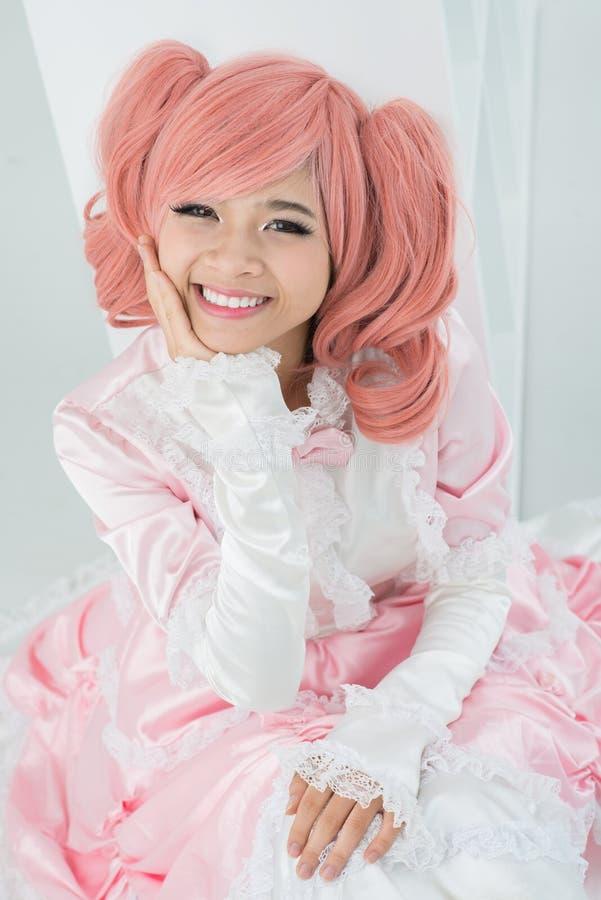 Felicità rosa immagine stock