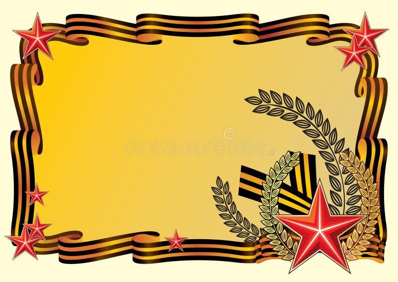 Felicitações a 9 maio ilustração royalty free