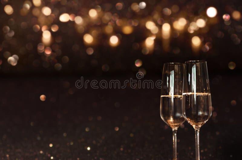 Felicitações do ano novo imagens de stock