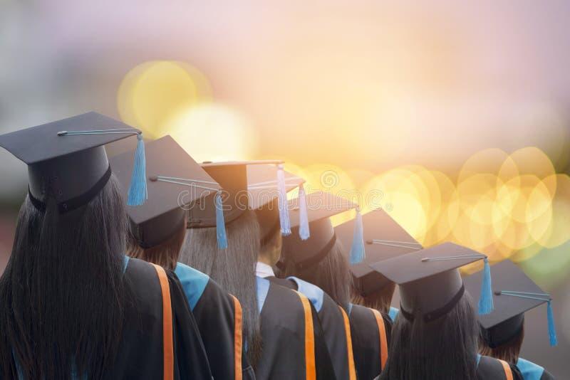 Felicitou os graduados imagens de stock