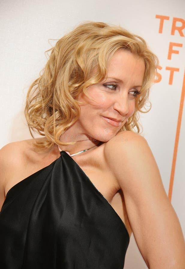Felicity Huffman en el festival de cine 2005 de Tribeca foto de archivo libre de regalías