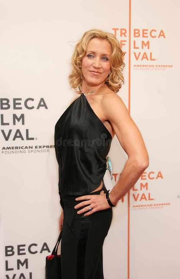 Felicity Huffman en el festival de cine 2005 de Tribeca imagen de archivo