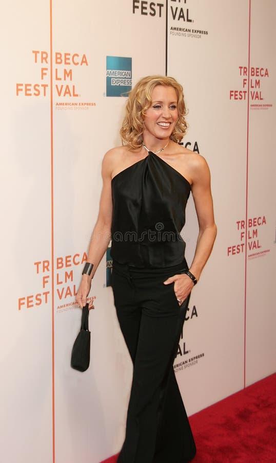 Felicity Huffman no festival de cinema 2005 de Tribeca imagens de stock royalty free