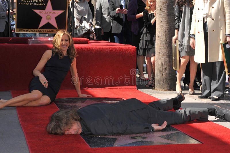 Felicity Huffman, William H Macy fotografia de stock