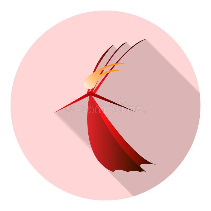 felik drottning vektor illustrationer